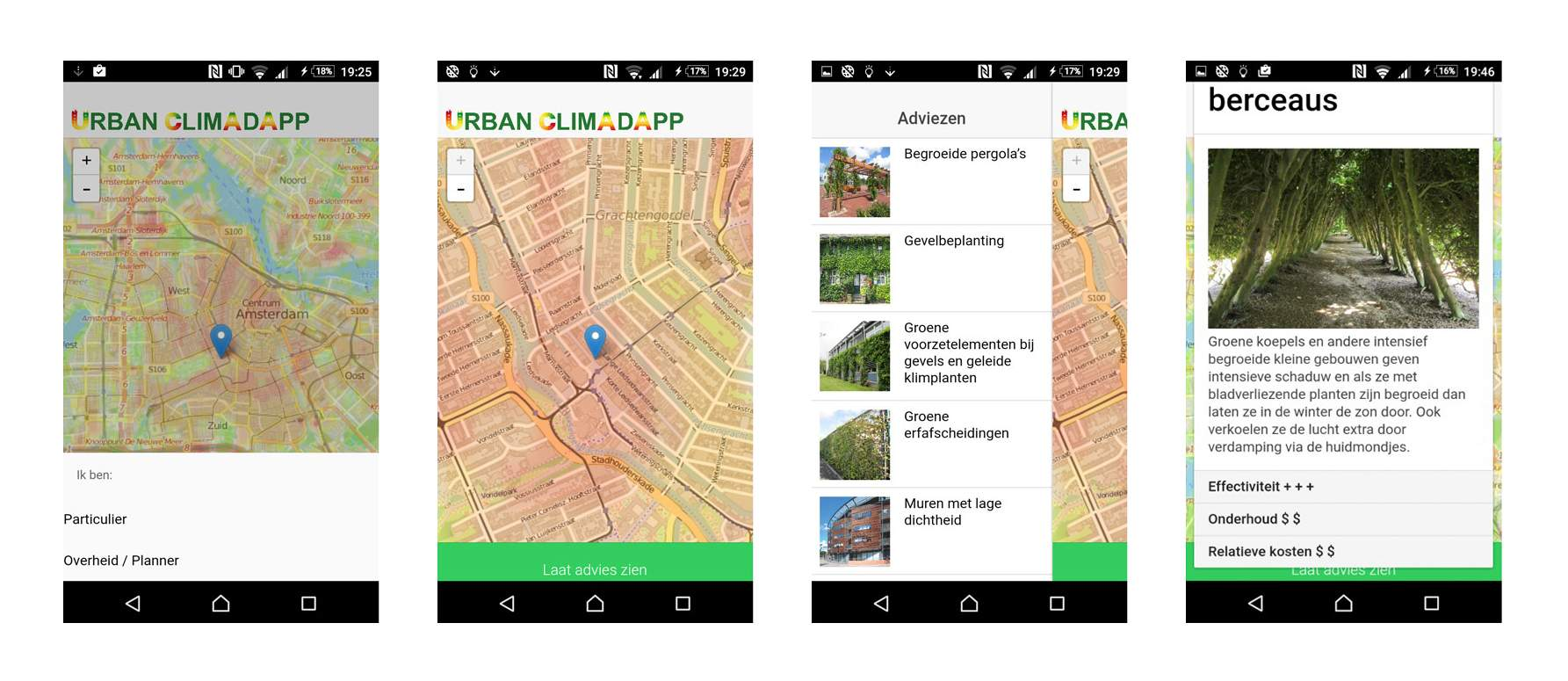 LANDLAB and WUR for AMS - app view